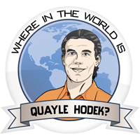 Where in the World is Quayle Hodek?