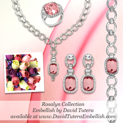 David tutera embellish announces the arrival of the new for David tutera wedding jewelry collection