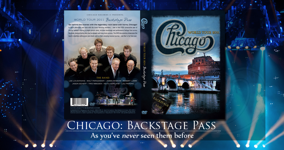 America S Legendary Band Chicago Releases New Dvd