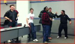University of Maryland Students Celebrate Their Victory Round In The Windward Code Wars