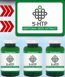5 HTP Griffonia Simplicifolia Seed Extract Supplement for Fast Weight Loss and Mood Balancing
