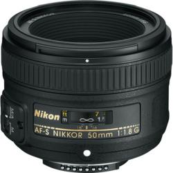 Nikon AF-S Nikkor 50mm f/1.8G Lens at B&H Photo Video