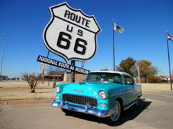 Blacktop Candy's '55 Bel Air - National Route 66 Museum