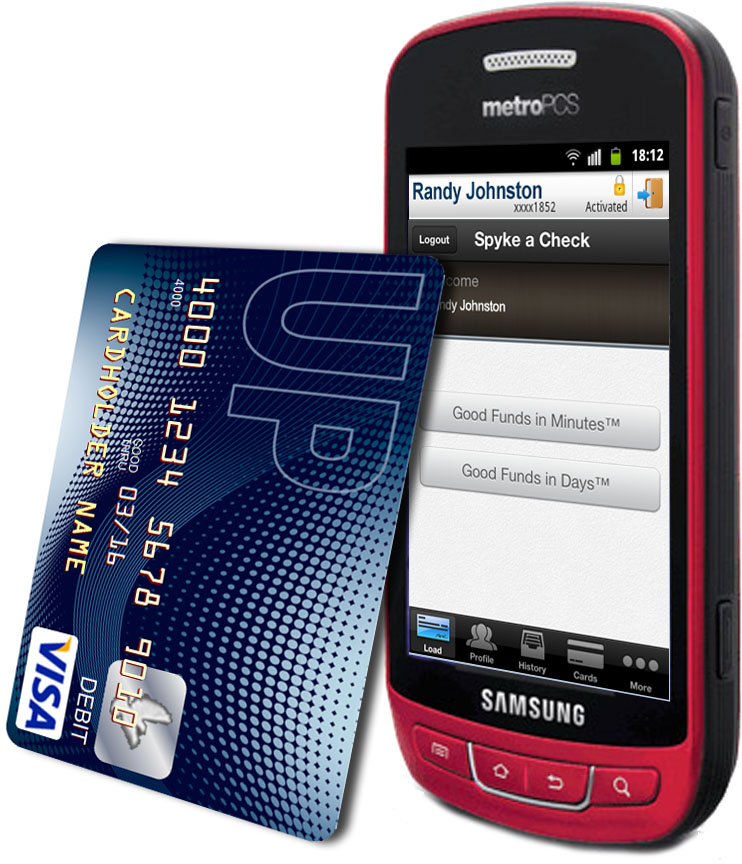 prepaid card mobile check deposit