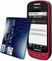 Mobile Deposit Capture of check into UPside Visa card