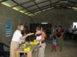 The Grid Earth Project makes sure that every household in the Village receives a solar lamp