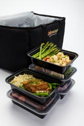 DeliverLean Cooler with Food