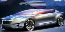 Subaru Hybrid concept car