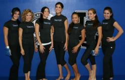 martial arts group exercise class