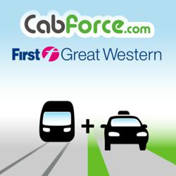 First Great Western has teamed up with Cabforce to bring pre-booked taxis to major train stations