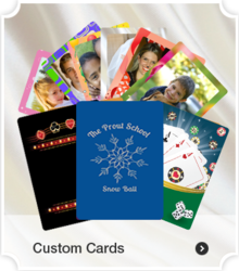 Custom Playing Cards for Fundraising