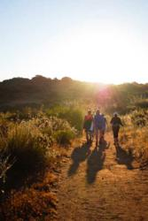 Mountain Trek guests at Rancho La Puerta