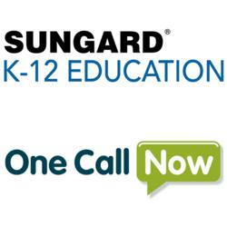 SunGard K-12 Education and One Call Now Logos