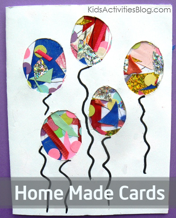 Birthday Cards For Kids To Make At Home