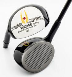 Black Magic Wedge's Patented New Groove Lob Wedge