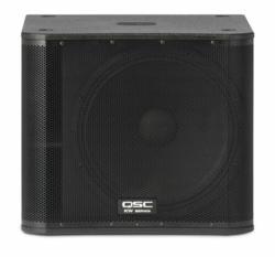 QSC KW18 Loudspeaker Powered PA Subwoofer