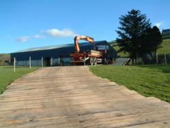 Timbermat Temporary Access Ramps Portable Roadways Wooden Walkways