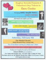 Valentine's Day Tribute to Sam Cooke