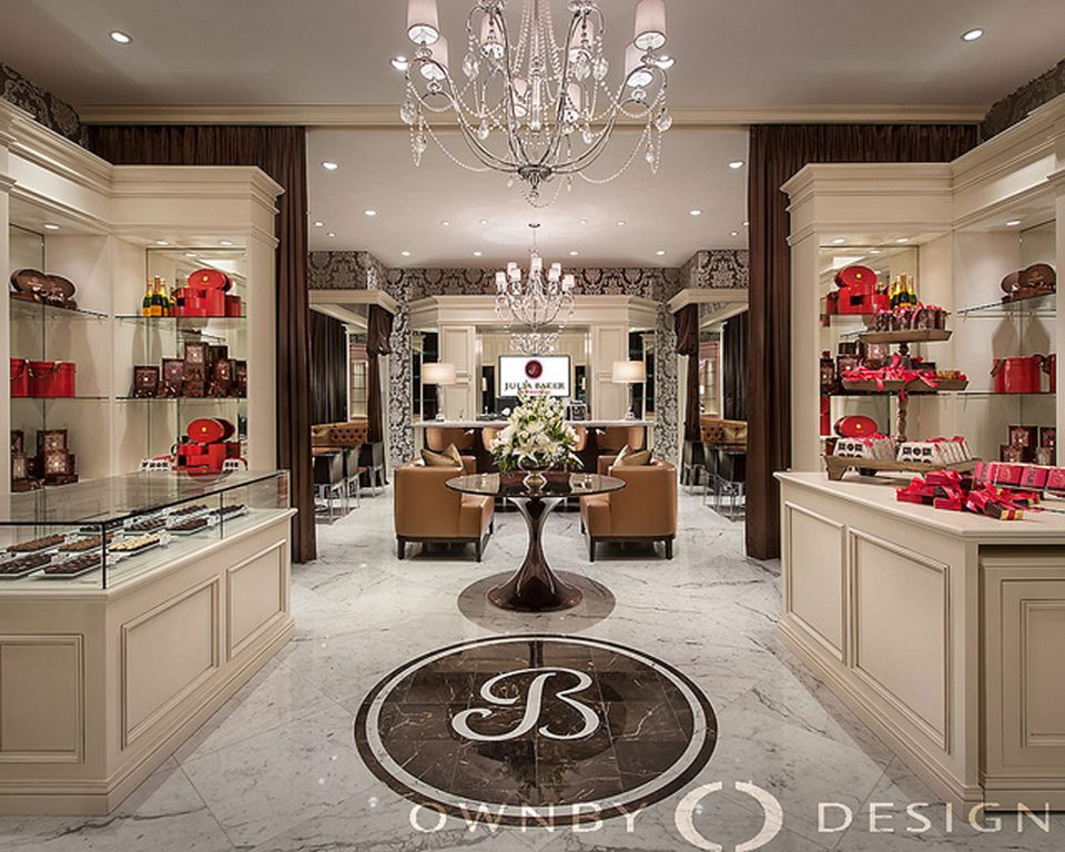 Julia baker confections chocolate boutique debuts its opening at the biltmore fashion park for Home design store merrick park
