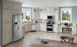 Showroom kitchen from Frigidaire appliances