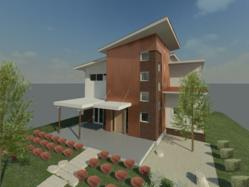 Proud Green Home at Serenbe 3D Model