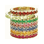 diViene stackable rings now available in sizes 3.5 to 12