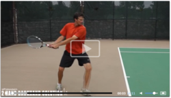 Djokovic and Murray tennis backhands