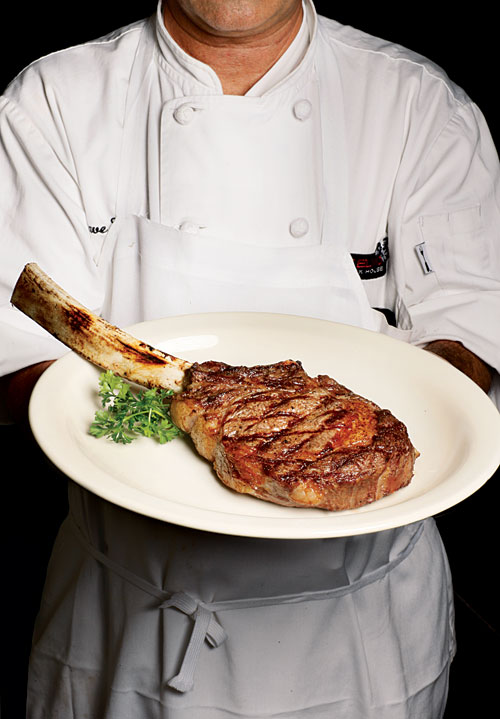 Sides For Dinner: Tomahawk Ribeye 32 Oz Challenge Now At LeGrand's In