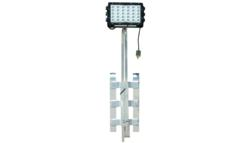 150 watt LED scaffold mount work light