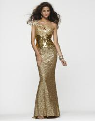 Clarisse prom dress 2117 in gold