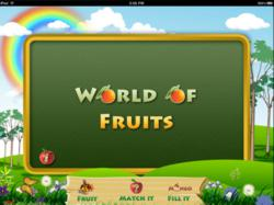 World Of Fruits For Kids