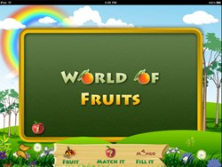 World of fruits for kids application