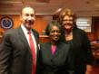 Pictured Above: Dr. Jeffrey Kesler COO of Georgia Partnership for Telehealth (GPT),Commissioner Mignon Clyburn, and Paula Guy CEO Georgia Partnership for Telehealth