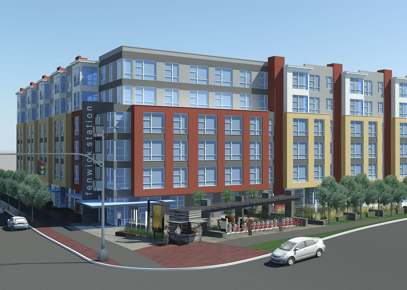 insight property group announces groundbreaking of fenwick station in downtown silver spring md. Black Bedroom Furniture Sets. Home Design Ideas