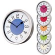 The Polished Cased Roco Verre French Numbers Wall Clock