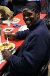 Harris YMCA Leaders Club hosts Love Thy Neighbor dinner for homeless Charlotteans