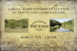 texas ranch land, auctions