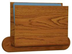 Wooden Chart Holders and File Holders