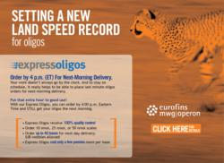 Express Oligos - faster than ever