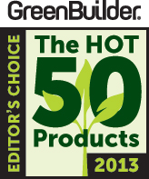 Green Builder Hot 50 Products 2013