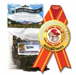 Dogington Post Announces Clear Conscience Pet's Lamb Airy Bites as Best Dog Treat for 2012