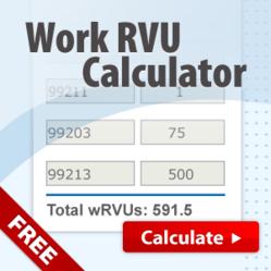 RVU Calculator