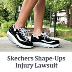 Wright & Schulte LLC, is dedicated to helping those affected by Skechers Shape-Ups Injuries receive their deserved compensation. Call 800-399-0795 or visit yourlegalhelp.com for a FREE consultation!