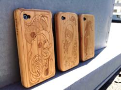 Mantrastyle Artist Series bamboo iPhone cases