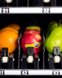 HUMAN Healthy Vending machines vend healthful snack options, including fresh fruit