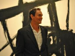 Professor Robert S. Mattison, curator of Franz Kline: Coal and Steel