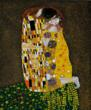 """The Kiss"" by Gustav Klimt came in first on overstockArt.com's 2013 Valentine's Day Top 10 Romantic Oil Paintings list."