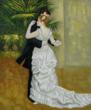 """Dance in the City"" by Pierre-Auguste Renoir placed sixth on overstockArt.com's 2013 Valentine's Day Top 10 Romantic Oil Paintings list."