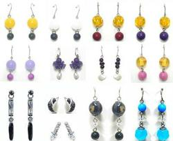 New earrings offer colorful options and shine and sparkle in cubic zirconia