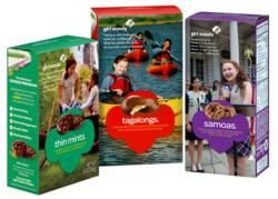 Girl Scout Cookies available throughout the central coast beginning February 22-March 17.